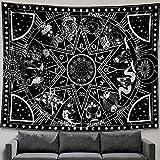 Zussun 12 Constellation Tapestry Star Sun Tarot...