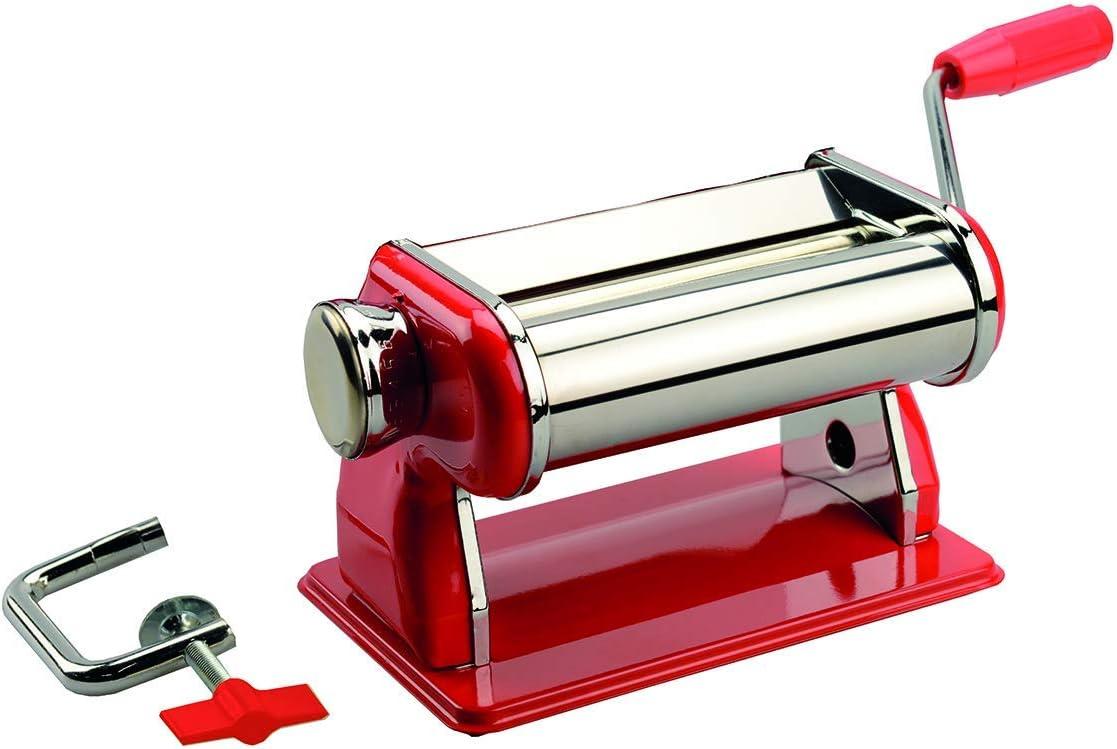 Artemio - Máquina de modelar (para Pasta, Masa y Arcilla), Color Rojo