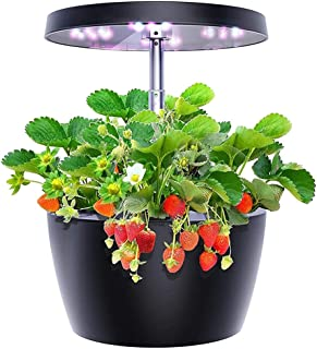 WZHZJ Hydroponics Growing System Smart Garden with 3 Growth Modes Indoor Herb Garden Starter Kit Easy to Use (Color : A)