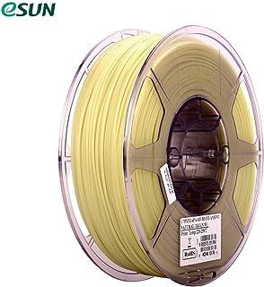 eSUN ePA-GF 1.75mm Glass Fiber Filled 3D Printer Filament 1kg (2.2lb) Spool Material Refills Natural Consumables