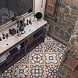 Adesivi per piastrelle impermeabili, adesivi per pavimenti decorativi per bagno in camera ...