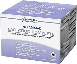 TheraNatal Lactation Complete Postnatal Vitamins - Lactation Supplements (91 Day Supply)