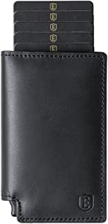 Parliament ('18 Collection) - Slim Leather Wallet - RFID Blocking - Quick Card Access