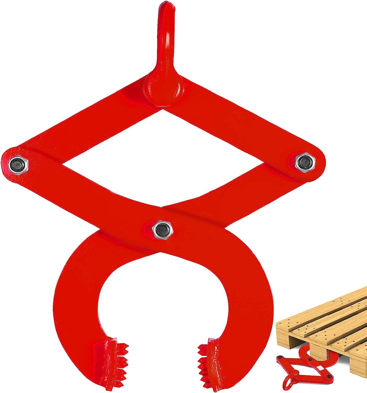 BestEquip 2T Pallet Puller Steel Pulle In stock Scissor Red 2021 Single
