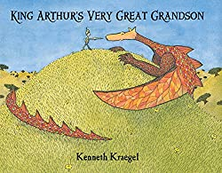 A screenshot of the cover of the book King Arthur's Very Great Grandson