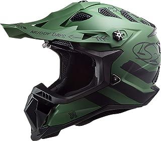 LS2 MX700 Subverter Evo Cargo Motocross Helm Grün Matt M 57/58