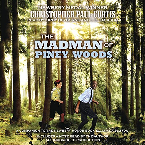 The Madman of Piney Woods audiobook cover art