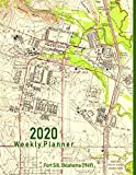 2020 Weekly Planner: Fort Sill, Oklahoma (1949): Vintage Topo Map Cover