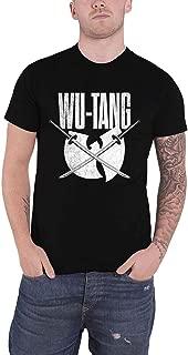 T Shirt Katana Distressed Logo Official Mens Black