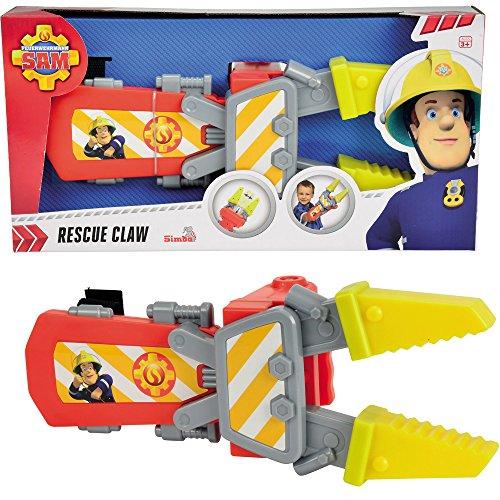Feuerwehrmann Sam Rettungsschere mit mechanischer Funktion, 30 cm || Kinder Spielzeug Feuerwehr Werkzeug Schere