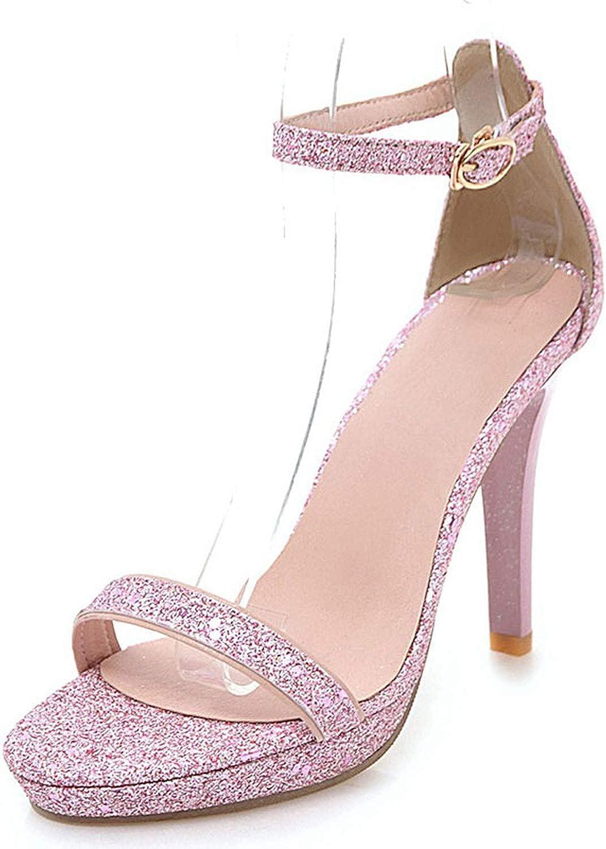 Summer High Heels Platform Open Toe White shoes Ladies Sandals shoes