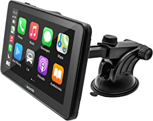 CARPURIDE CP701 Compatible with Apple Carplay Android Auto Car Stereo w/ 7