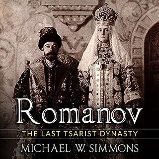 Romanov audiobook cover art