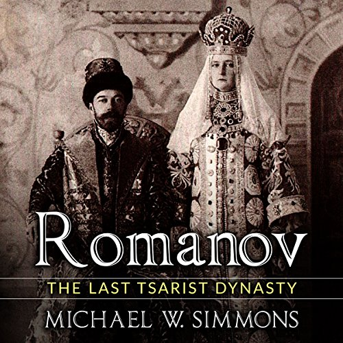 Romanov audiobook cover art