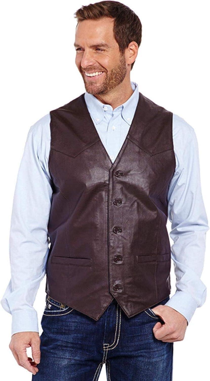 Cowboy Shop Men's Leather Vest