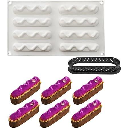 3D Boule Concave /à 6 Trous Forme Moules pour Glace Chocolat P/âtisserie Dessert et Outil de Ustensiles de Cuisson Moule /à G/âteau en Silicone