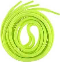 Mshega 6mm Round Athletic Shoelaces Solid Colors Shoe Laces