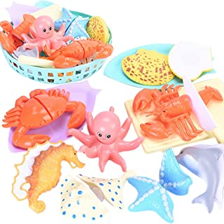 Coxeer Cutting Toy Set Multipurpose Kitchen Playing Set Pretend Food Toy for Children