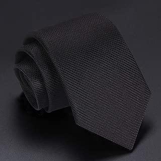 Men's Dot Tie Jacquard Woven Classic Men's Tie Business Work Wedding Tie Gift 145×7cm CQQO (Color : E)