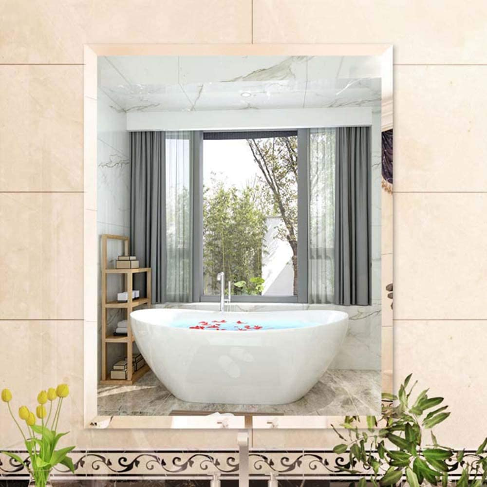 Mirror Bathroom excellence Wall Stickers Max 62% OFF G Wall-Mounted Perforated