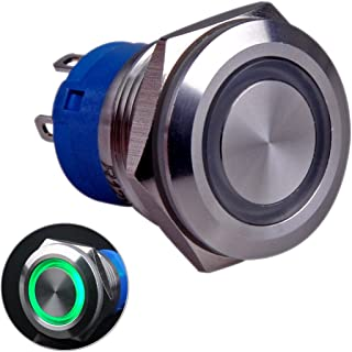 Taien Momentary Push Button Switch 19mm 3/4