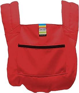 日本エイテックス キャリフリー ポケッタブルキャリー 抱っことおんぶで使える 軽量ポケッタブル抱っこひも レッド 01-108