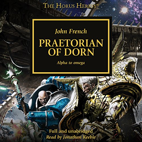Praetorian of Dorn audiobook cover art