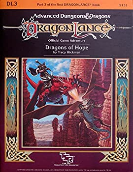 DL3 Dragons of Hope - Book  of the Advanced Dungeons and Dragons Module #C4