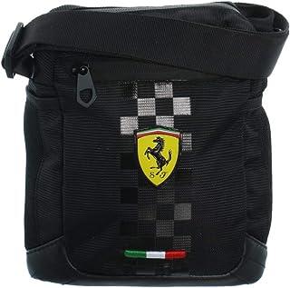 f3383654d8 Ferrari - Sacoche bandoulière ref_46279 Noir 20 * 23 * 3