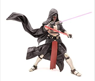 FIGLot Black Outfit Set for Star Wars Black Series Darth Revan (Figure NOT Included)