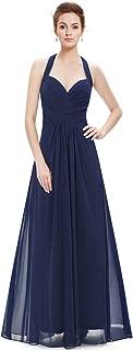 Ever-Pretty Floor Length Sexy Halter Long Evening Dress for Women 08487