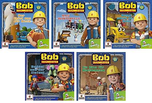 Bob der Baumeister - Hörspiel / CD 6-10 im Set - Deutsche Originalware [5 CDs]