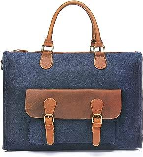 Mens Bag Simple Retro Briefcase Bag Zippered Crossbody Bag Shoulder Bag High capacity