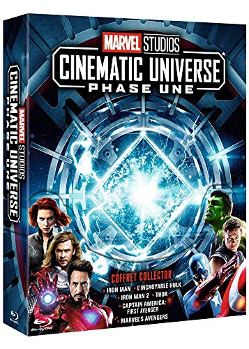 Marvel Studios Cinematic Universe : Phase 1 - 6 films [Francia] [Blu-ray]