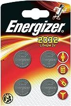 Energizer cr2032 piles bouton au lithium 3 V batterie – (lot de 4)