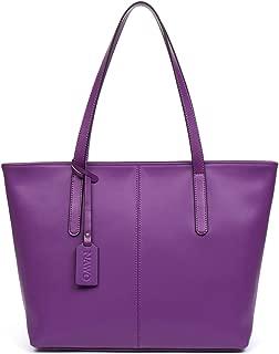 NAWO Women Leather Handbags Designer Shoulder Tote Top-handle Purses