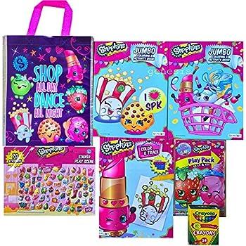 Shopkins Birthday Gift Set Coloring Books,Sti   Shopkin.Toys - Image 1
