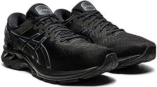 ASICS Men's Gel-Kayano 27 (4E) Running Shoes, 11XW, Black/Black