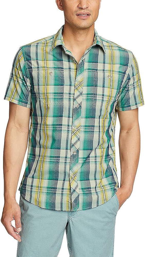Eddie Bauer Men's Greenpoint Short-Sleeve Shirt