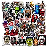 GTOTd pegatinas para la película de terror 50pcs-regalos horror película merchandise pegatinas...