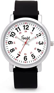Speidel Original Scrub Watch - Medical Scrub Colors, Easy Read Dial, Second Hand, Water Resistant