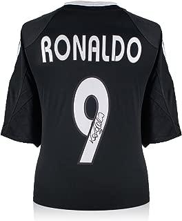 Ronaldo de Lima Signed Real Madrid Soccer Jersey 2004-05 Away