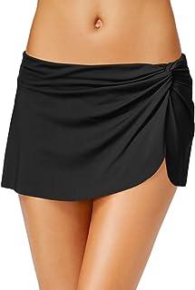 SELUXU Mujer Shirred Faldas Bikini Fondo Faldas Nadar