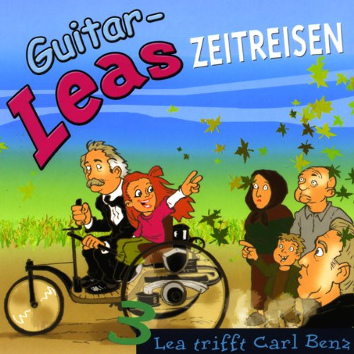 Lea trifft Carl Benz audiobook cover art