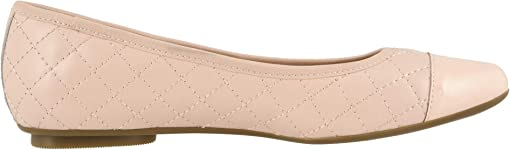 Rose Quilted Nappa/Rose Patent