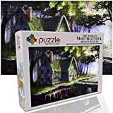 GFSJJ Jigsaw Puzzles 1000 Piezas Puzzle 1000 Piezas Niños para Infantiles Niño Adultos Adolescentes Hombre Regalos para Navidad Choza De Fantasía (52 X 38 Cm)