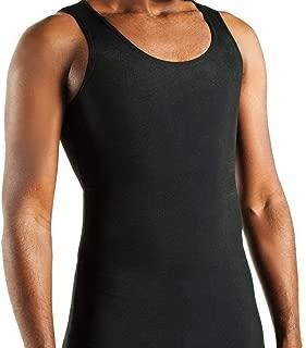GC2 Gynecomastia Compression Undershirt (XL, BLACK)