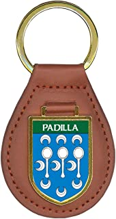 Padilla Family Crest Coat of Arms Key Chains