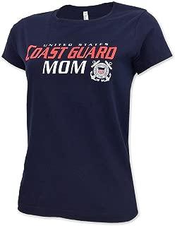 Ladies US Coast Guard Mom T-Shirt
