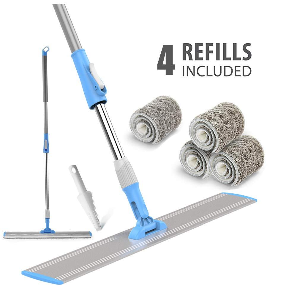 Microfiber Aluminum Adjustable Stainless Cleaning
